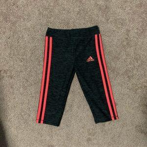 Adidas girls sport Capri pants size 5